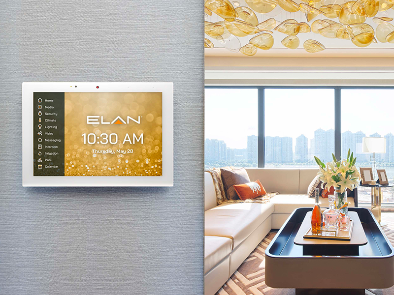 ELAN Touchscreen on wall 800x600