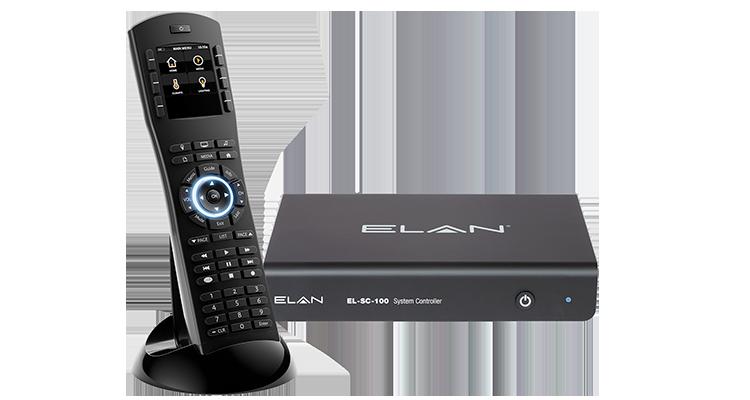 Elan-SC-100-System-Controllerand HR10 remote